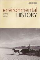 Environmental History July 2013